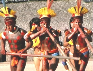 Amerindian Dance Music & Instruments